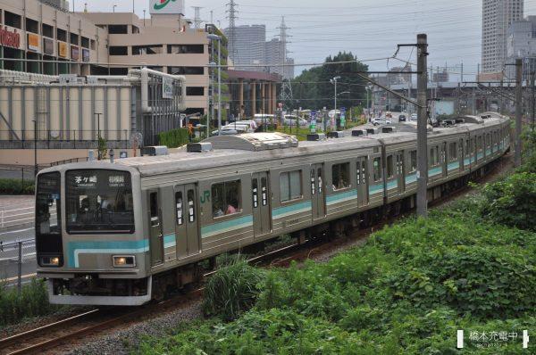 205系電車 R2編成 2013-07-20
