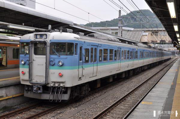 115系C7編成 2013/07/26 高尾