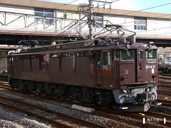 EF64形電気機関車 EF64 37/2005-01-21 八王子