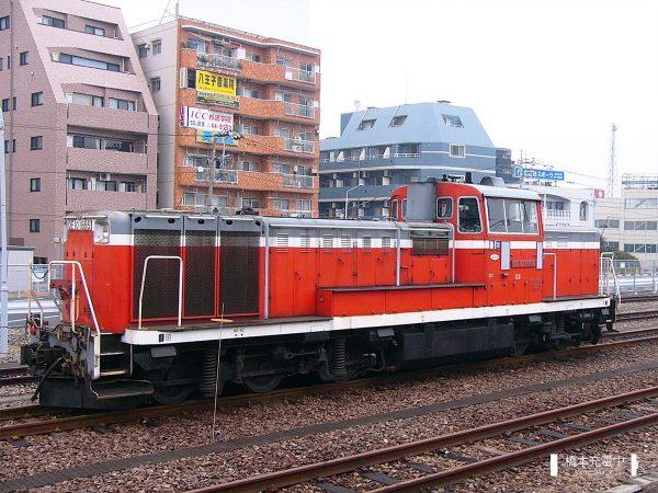 DE10形ディーゼル機関車 DE10 1666/2005-03-11 八王子