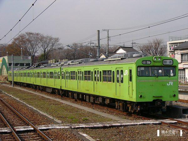 103系電車 52編成(川越車両センター)/2005-03-31 拝島