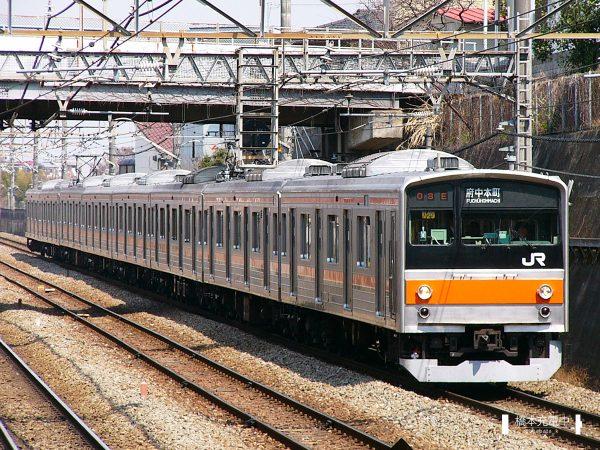 205系電車 M29編成(京葉車両センター)/2005-03-31 新秋津
