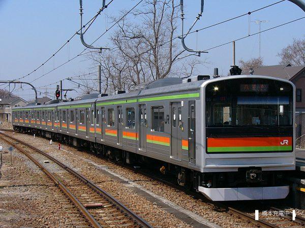 205系電車 85編成(川越車両センター)/2005-04-05 小宮