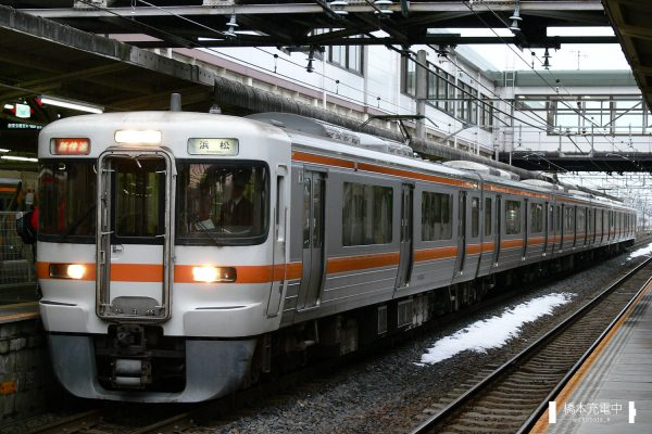 313系電車 Y4編成(大垣車両区)/2006-01-04 大垣