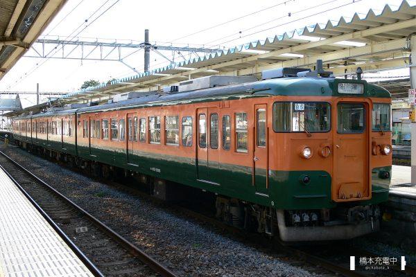 115系電車 B5編成(静岡車両区)/2006-01-17 国府津