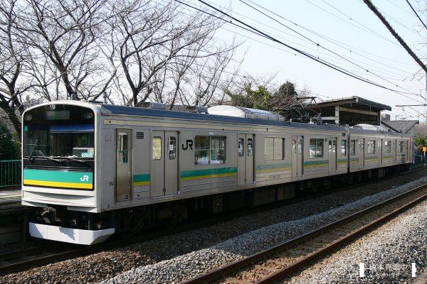 205系電車 ワ4編成(中原電車区)/2006-01-30 川崎新町