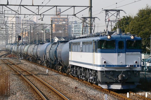 EF65形電気機関車 EF65 1101/2006-01-30 川崎新町