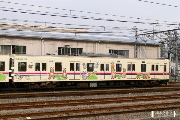 京王6000系 6722F/ 2006-02-23 高幡不動