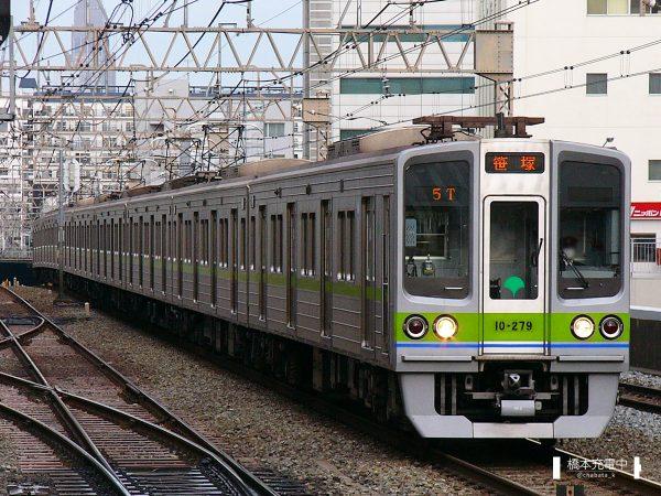 東京都交通局10-000形 10-270F/2006-03-06 笹塚