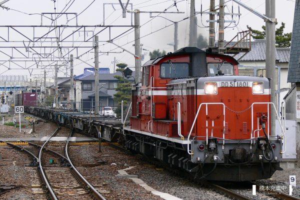 DD51形ディーゼル機関車 DD51 1801/2006-03-14 富田浜