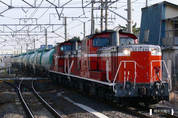 DD51形ディーゼル機関車 DD51 896/2006-03-14 富田浜