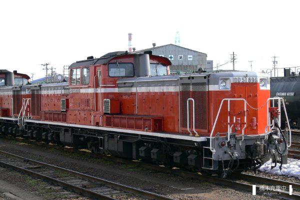 DD51形ディーゼル機関車 DD51 896/2006-03-14 四日市
