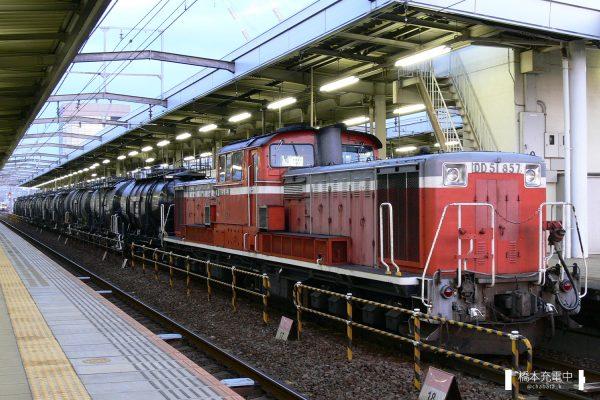 DD51形ディーゼル機関車 DD51 857/2006-03-15 岐阜