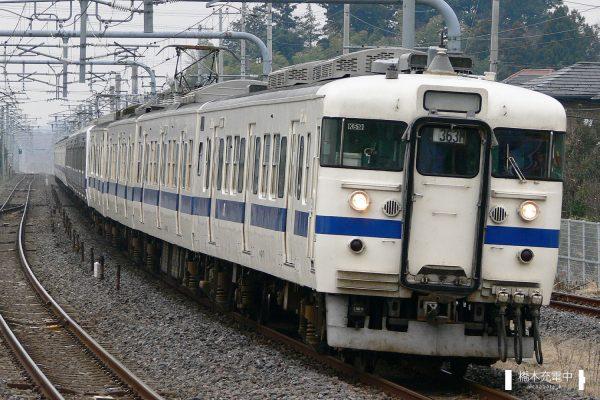 403・415系電車 K519編成(勝田車両センター) /2006-03-16 ひたち野うしく