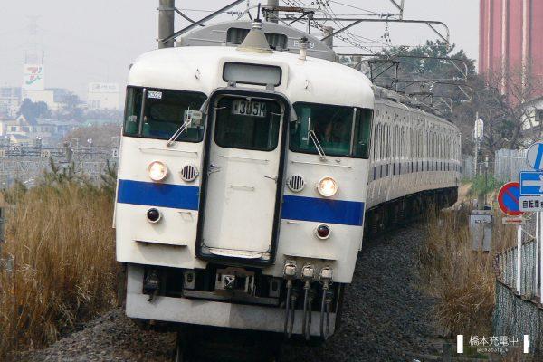 403・415系電車 K522編成(勝田車両センター)/2006-03-16 天王台