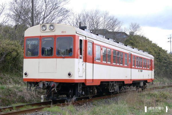 鹿島鉄道キハ600形 キハ601/2006-04-09 四箇村-常陸小川