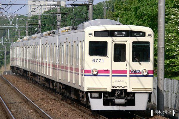 京王6000系 6721F/2006-05-05 南大沢