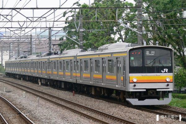 205系電車 15編成(中原電車区)/2006-05-09 府中本町