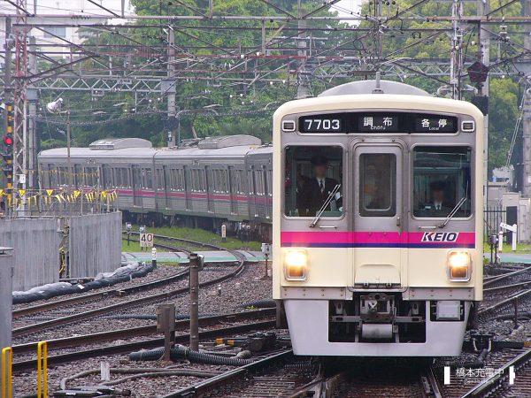 京王7000系 7703F/2006-05-16 調布