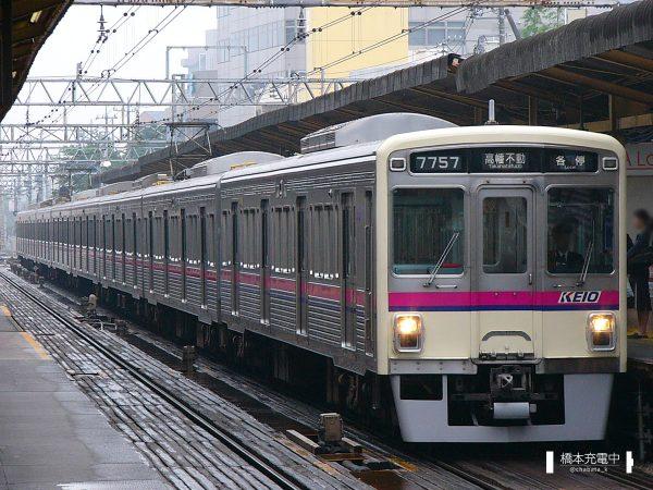 京王7000系 7707F/2006-05-16 調布