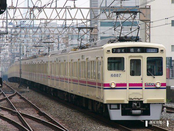 京王6000系 6437F/2006-05-17 笹塚