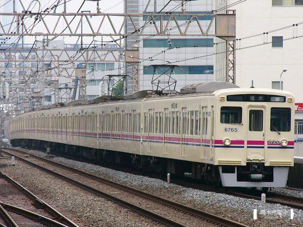 京王6000系 6715F/2006-05-17 笹塚