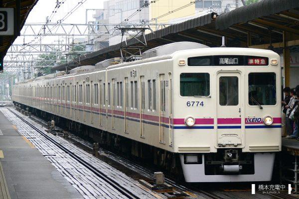 京王6000系 6724F/2006-05-18 調布