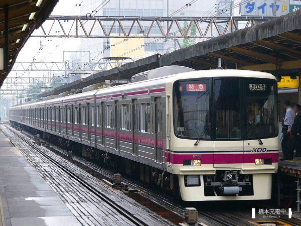 京王8000系 8708F/2006-05-16 調布