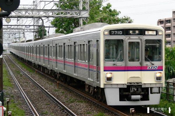 京王7000系 7710F/2006-05-27 武蔵野台