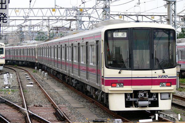 京王8000系 8810F/2006-06-08 高幡不動