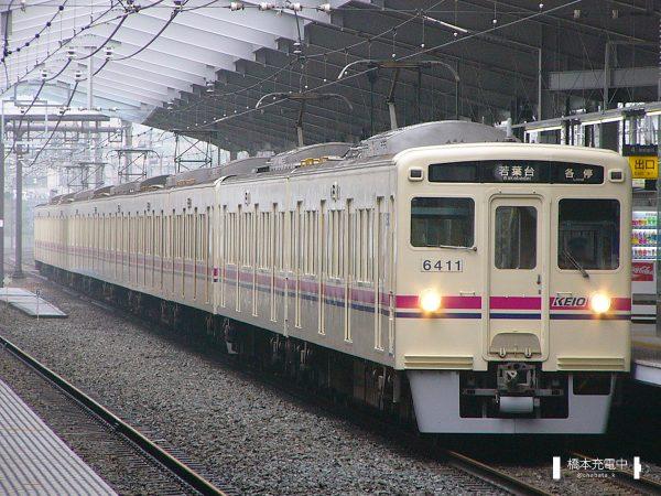京王6000系 6411F/2006-06-14 京王多摩センター