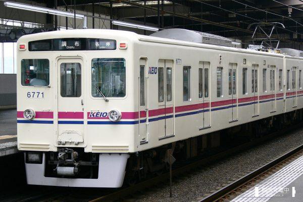 京王6000系 6721F/2006-07-06 京王堀之内 橋本方6771