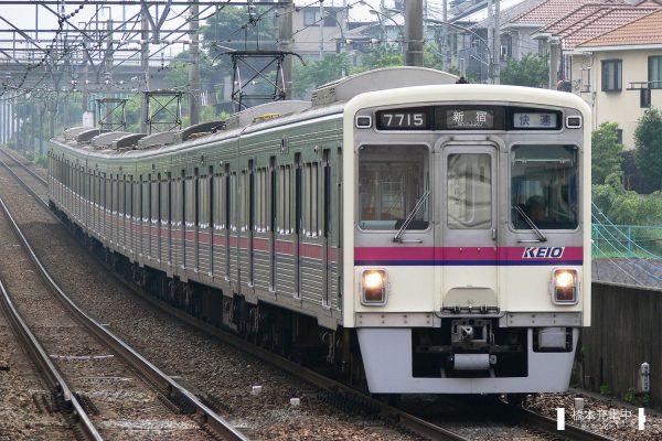 京王7000系 7715F/2006-07-06 京王堀之内