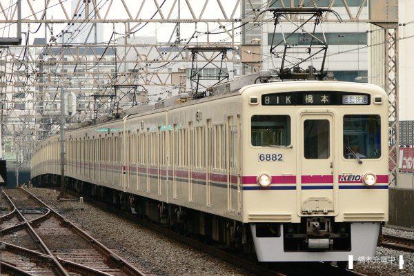 京王6000系 6432F/2006-08-30 笹塚