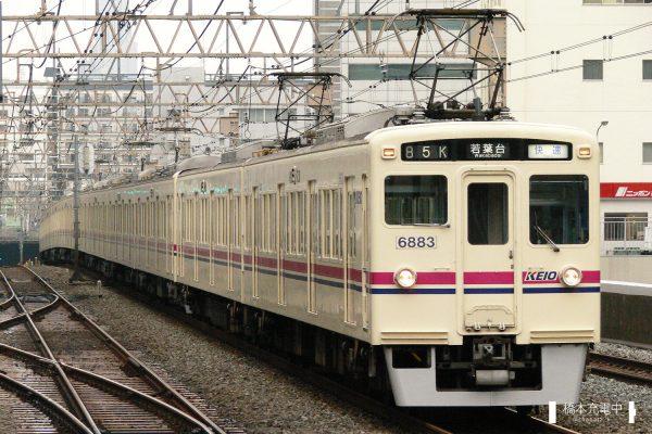 京王6000系 6433F/2006-08-30 笹塚