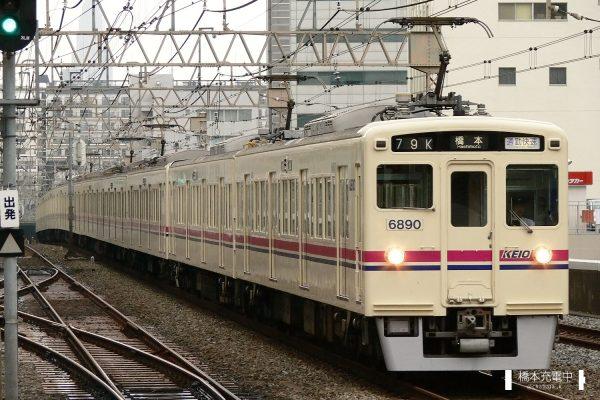 京王6000系 6440F/2006-08-30 笹塚 手前2両が6440F(6440-6890)