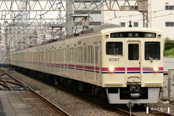 京王6000系 6737F/2006-08-30 笹塚