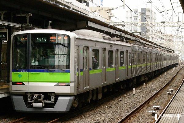 東京都交通局10-300R形 10-360F/2006-08-30 笹塚