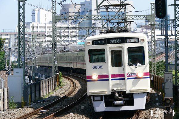 京王6000系 6438F/2006-08-31 京王多摩川