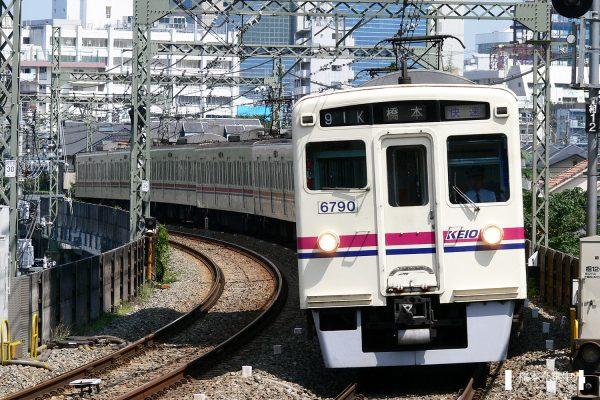 京王6000系 6740F/2006-08-31 京王多摩川