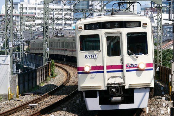 京王6000系 6741F/2006-08-31 京王多摩川