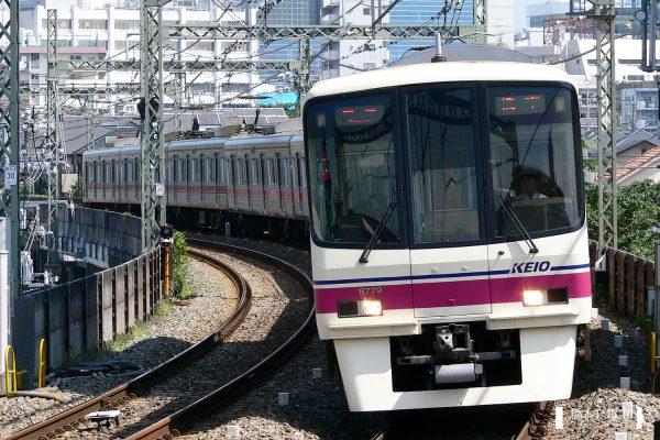 京王8000系 8729F/2006-08-31 京王多摩川