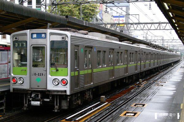東京都交通局10-000形 10-220F/2006-09-01 調布