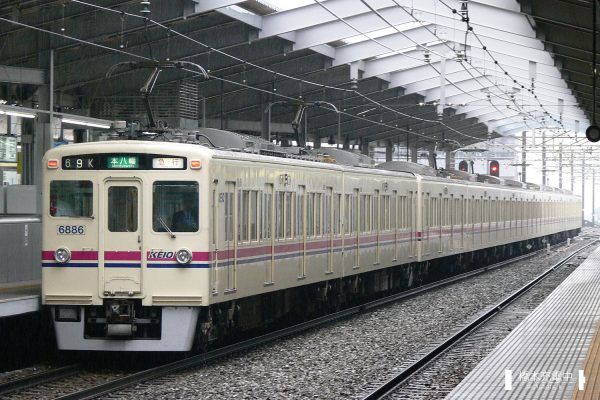京王6000系 6436F/2006-09-26 京王多摩センター