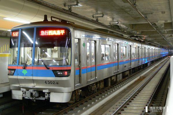 東京都交通局6300形 6302F/2006-09-26 大岡山