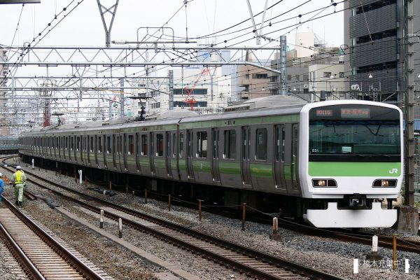 E231系電車 531編成(東京総合車両センター)/2006-09-29 秋葉原