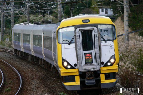 E257系電車 NB-09編成(幕張車両センター)/2006-11-12 大網