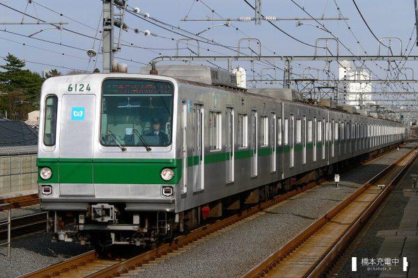 東京メトロ6000系 6124F