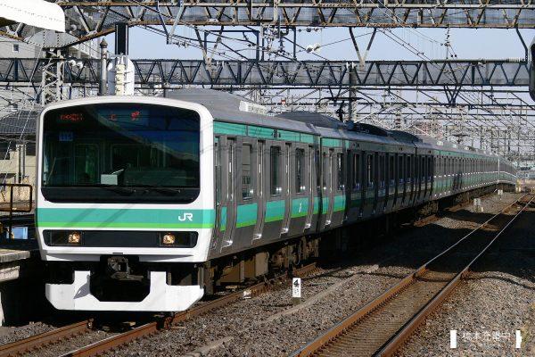 E231系電車 115編成(松戸車両センター)