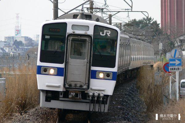 415系電車 K516編成(勝田車両センター)